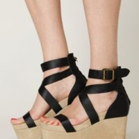 Jeffrey Campbell Fortuna Platform at Free People Clothing Boutique