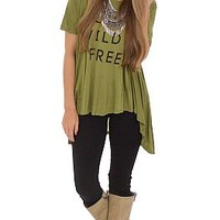 Young, Wild and Free Tee :: NEW ARRIVALS :: The Blue Door Boutique