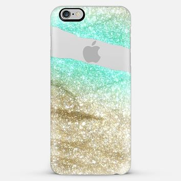 LIMITLESS AQUA & GOLD by Monika Strigel iPhone 6 plus iPhone 6 Plus case by Monika Strigel | Casetify