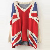 Product search_Bat Long Sleeve Plaid Long Sleeve Sweater_udobuy - Fashion Dress with Free Shipping