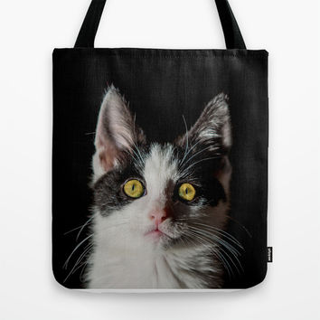 KIT LIT Tote Bag by Catspaws
