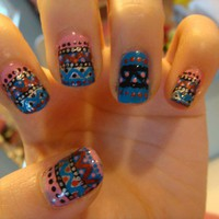 Exploring Crazy Manicure Trends  HIPPIE CHIC