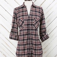 Altar'd State Roll Up Your Sleeves Plaid Top | Altar'd State