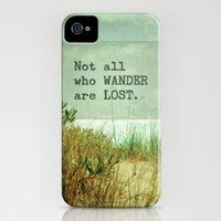Not All Who Wander iPhone Case by Joy StClaire | Society6