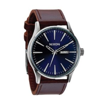 Nixon The Sentry Leather Watch  Menx27s at CCS