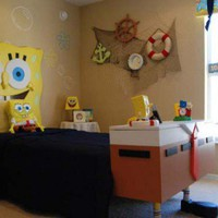 Sponge Bob Squarepants Kids Bedroom Decorating on Exterior Design | Home Decor | Interior Design | Contemporary Furniture Products
