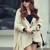 New leisure designers sweater coat