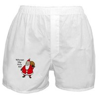WHERE MY HOES AT? Boxer Shorts> FUN CHRISTMAS HOLIDAY CLOTHES> Taglines T-shirts and more