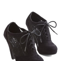 ModCloth Numerous Occasions Heel in Black