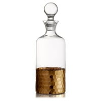 Daphne Gold Decanter, Decanters