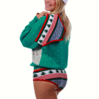 Ugly Christmas Sweater Undies