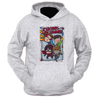 5 Second Of Summer The Avengers Cartoon hoodie for womens and mens heppy feed