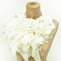 Bonzie Vintage Inspired Bridal Collar by bonzie on Etsy