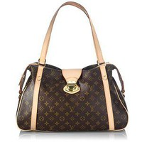 Louis Vuitton Monogram Stresa GM Shoulder Handbag
