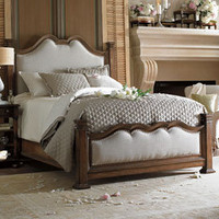 European Farmhouse Hampton Hill Upholstered Bed - Beds - Bedroom & Bath - Furniture - PoshLiving