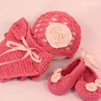 Crochet Newborn Ballerina/princess .. on Luulla