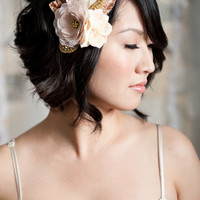 Flora | tessa kim birdcage veils and bridal hair accessories