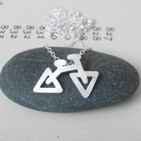 Sterling Silver Holiday Bicycle Nec.. on Luulla