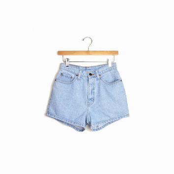 Vintage High Waisted 90s Jean Shorts by Jordache - small