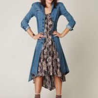 Free People Denim Duster at Free People Clothing Boutique