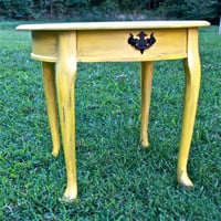 Marigold Yellow Side Table