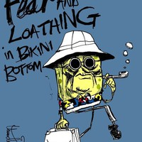 Fear and Loathing in Bikini Bottom Art Print by thunderbloke! | Society6