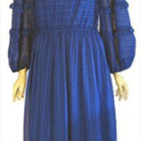 Victor Costa Designer 70s Vintage Dress