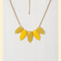 Lemon Twist Necklace