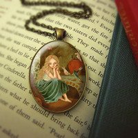 Fairytale Jewelry - Cinderella Art Pendant Necklace