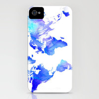 Watercolour World iPhone Case by Ally Coxon | Society6