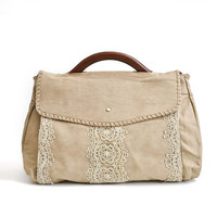 kyoto lace satchel : Asian iCandy Store