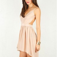 Emerson Thorpe Rise & Fall Hemline Dress