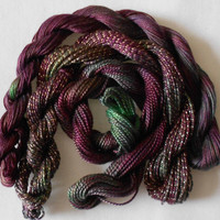 Damson, Mulberry, Autumn, Green, Three Thread Selection, Unique, Yarn, Serendipity