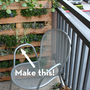 How-To: Turn a Pallet Into a Vertical Garden  Keywords: DIY, gardening, pallet, repurposed pallets