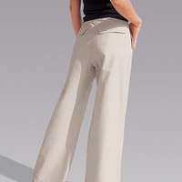 Jeanology Super Wide-Leg Pants at Newport-News.com