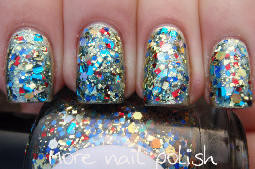 Treasure Chest Hand made custom nail polish