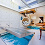 Creative Small Indoor Pool and Spa Design in Living Room | House Design | Decorating Concept | House Rebuilding | Furniture | Garden | Office