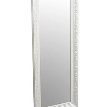 Tall Antique Style Carved Effect Mirror