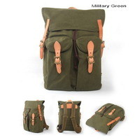Retro inspired canvas warrior rucksack | laptop pack from Vintage rugged canvas bags