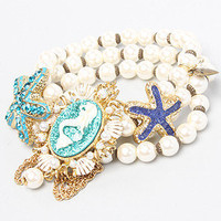 The Mermaid Starfish Stretch Bracelet