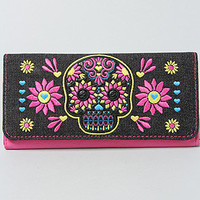 The Denim Skull Wallet