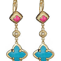 Lauren G. Adams Long Drop Earrings - Max and Chloe