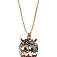 Hoot As Can Be Necklace | Mod Retro Vintage Necklaces | ModCloth.com