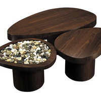Island Tables by John Wiggers from Vivavi sustainable furniture made of eco-friendly, FSC certified sustainably harvested wood