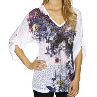 Firetrap Marianne Garden Printed Women's T-Shirt: Amazon.co.uk: Clothing