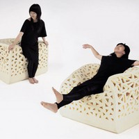 The breathing chair by Yu-Ying Wu - Looks good, Feels comfortable Works!Looks Feels Works