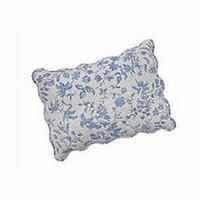 Brighton Blue Toile Standard Pillow Sham | Atlantic Linens