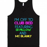 Club Bed Tank Top