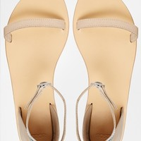 ASOS FEATHER WEIGHT Leather Flat Sandals