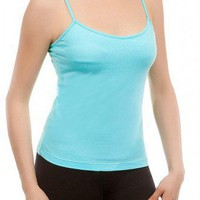BLUE BASIC TANK TOP @ KiwiLook fashion